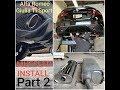 Vibrant Muffler Install Alfa Romeo Giulia Veloce TI SPORT