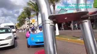 AIDA Ausflug COZ23 - Mit dem Bobby Car über die Insel
