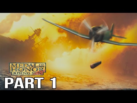 Medal of Honor Rising Sun Gameplay Walkthrough Part 1 - Pearl Harbor + Philippines