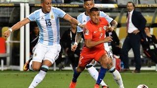 Chile 1 - 2 Argentina | Copa América Centenario 2016 | Claudio Palma