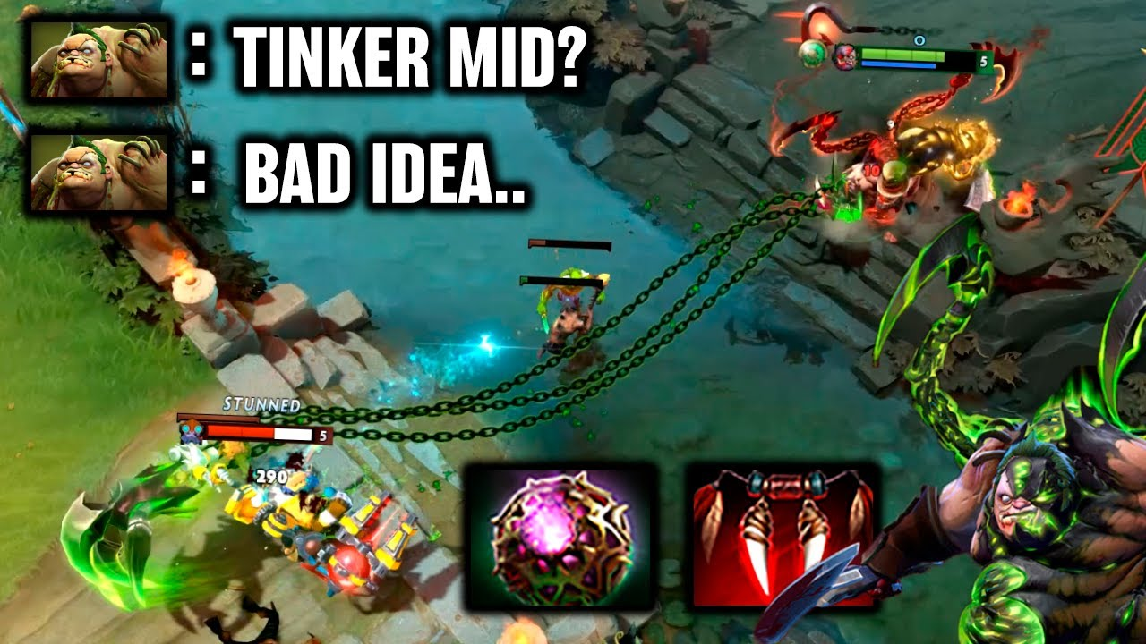 ODPixel PUDGE - Tinker Mid? Bad Idea!.. - Dota 2 Highlights TV