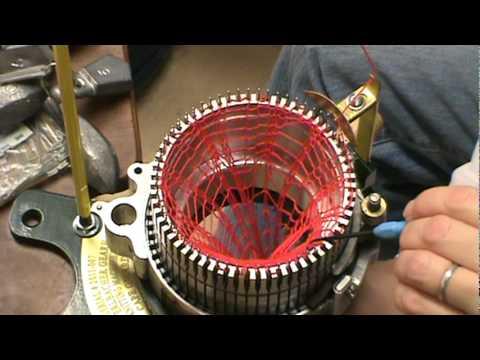 Thread the Erlbacher Gearhart Knitting Machine  YouTube