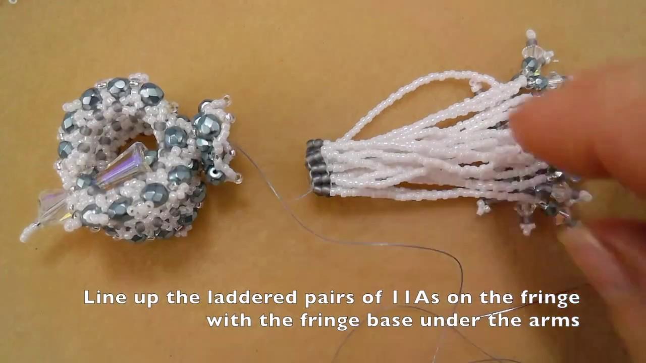 DIY Beading - How To Make: Ice Crystal Tassel (MGS Designs) - YouTube