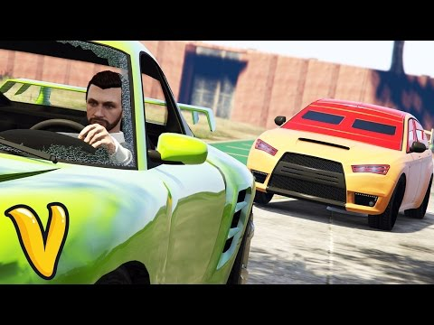 SUPER FUN GTA 5 SPORTS CAR TAG!!! :: GTA 5  Stunts Funny Moments!