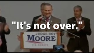 Roy Moore Refuses to Concede, Calls for Recount After Losing Alabama Senate Race to Doug Jones