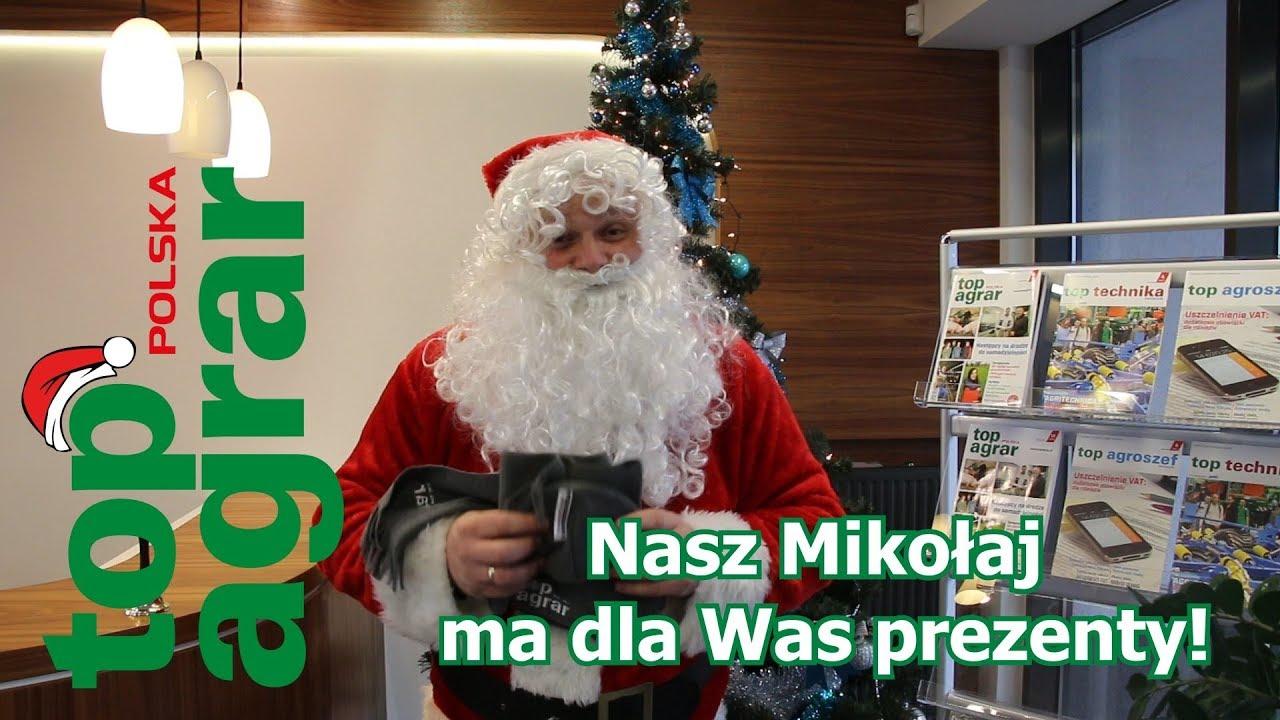 Mikołaj z top agrar Polska ma dla Was fajne prezenty na Święta!