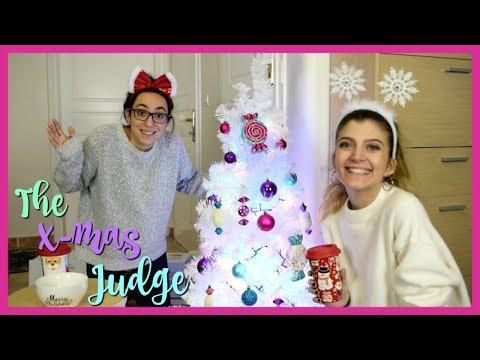 Η Αντωνία κρίνει τα Χριστουγεννιάτικα στολίδια μου   katerinaop22