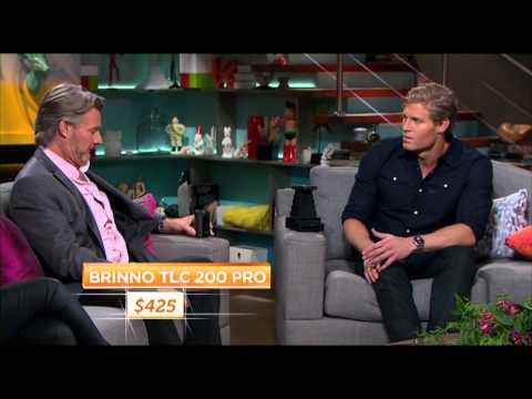 Brinno TLC200 Pro is the HOT product in the Living Room Show, Ten TV channel at Australia