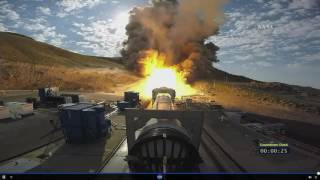 NASA Test-Fire Solid Rocket Booster for Megarocket