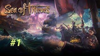 We found the treasure #1  Sea of Thieves   لقينا الكنز الحلقة 1  لصوص البحار