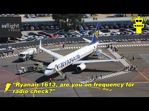 ATC: Confused Ryanair Pilot | Take Off from Carcassonne