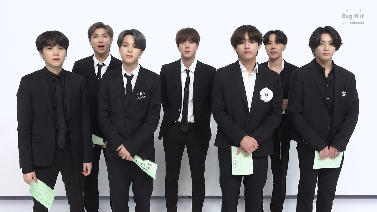 BTS (방탄소년단) 2021 NYEL Message for ARMY