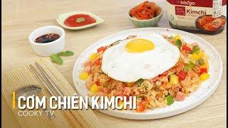 #CookyVN - Cách làm CƠM CHIÊN KIM CHI cho bữa sáng nhanh gọn - KIMCHI FRIED RICE - 김치 볶음밥 - Cooky TV