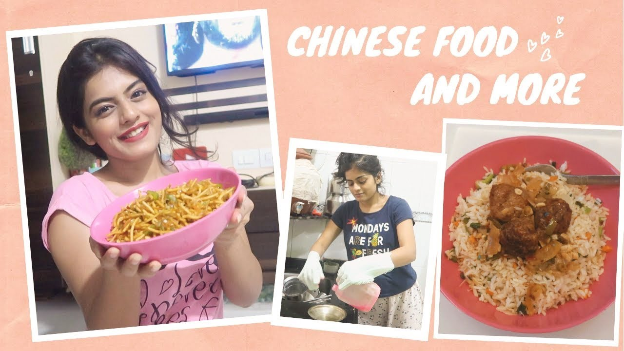 Making Chinese Food At Home and more #CookingWithDhwani | #DhwanisDiary