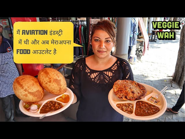 Delhi NCR ka best Punjabi Food   Veggie Wah   Kulcha Walas Gurgaon