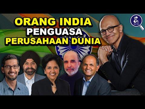Bukti India Menuju Negara Raksasa.!! Inilah 7 Orang India yang menjadi CEO di Perusahaan Dunia