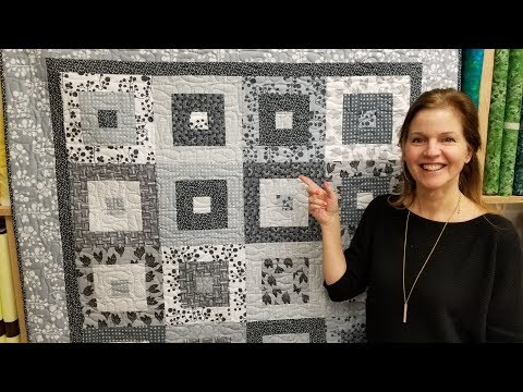 Simple. Modern. Elegant. It's Hip to be Square Quilt! Free Pattern | New Giveaway :)