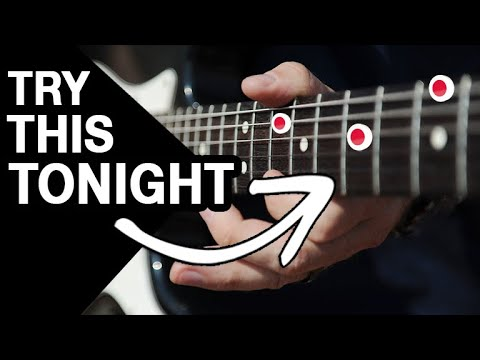 Try This Tonight if You Can't Play a Scale!