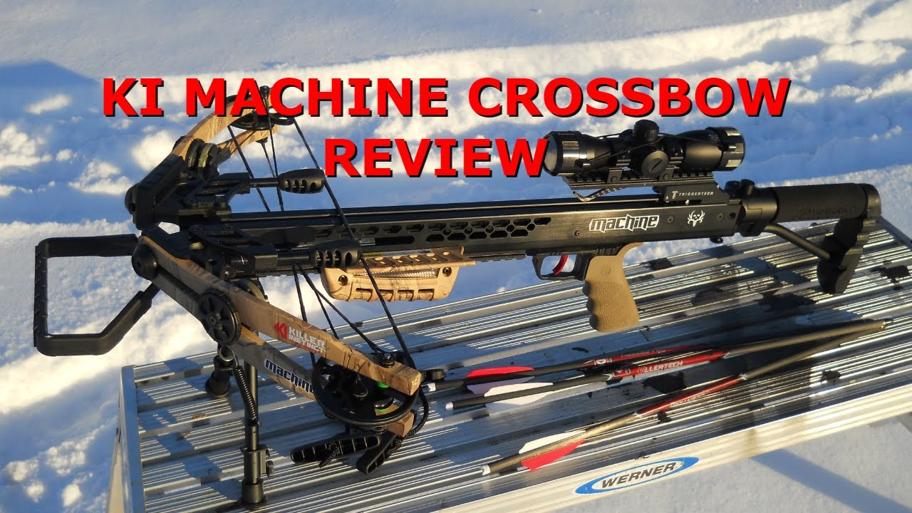 Killer Instinct Machine Crossbow Review Youtube