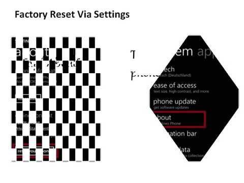 Microsoft Lumia 540 Dual hard reset