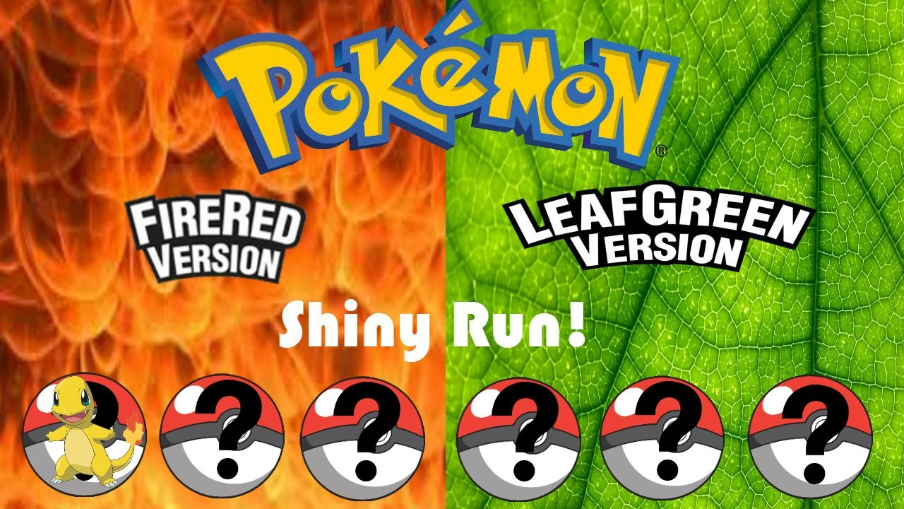 how to get shiny pokemon in fire red