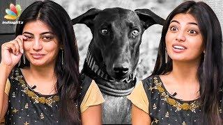 I Started Crying Seeing the Dog : Anandhi Interview | Kathir, Pariyerum Perumal