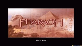 Pharaoh gameplay (PC Game, 1999)