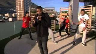 """Loyiso Bala performs """"Time to Dance """"  live on expresso (5.4.2013)"""