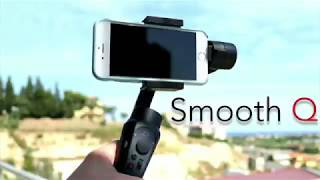 Zhiyun Smooth Q Gimbal & iPhone 8+ - Footage & Thoughts