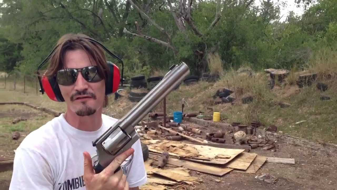 World's Biggest Handgun! .500 S&W Magnum! - YouTube