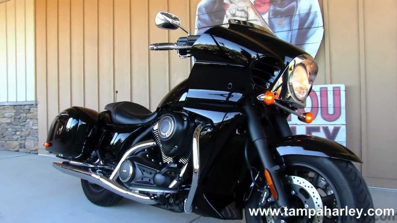 Used 2011 Kawasaki Vulcan 1700 Vaquero For Sale Youtube