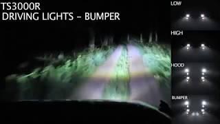 jeep wrangler jk tj j w speaker 8700 evolution led klarglas scheinwerfer ausleuchtung