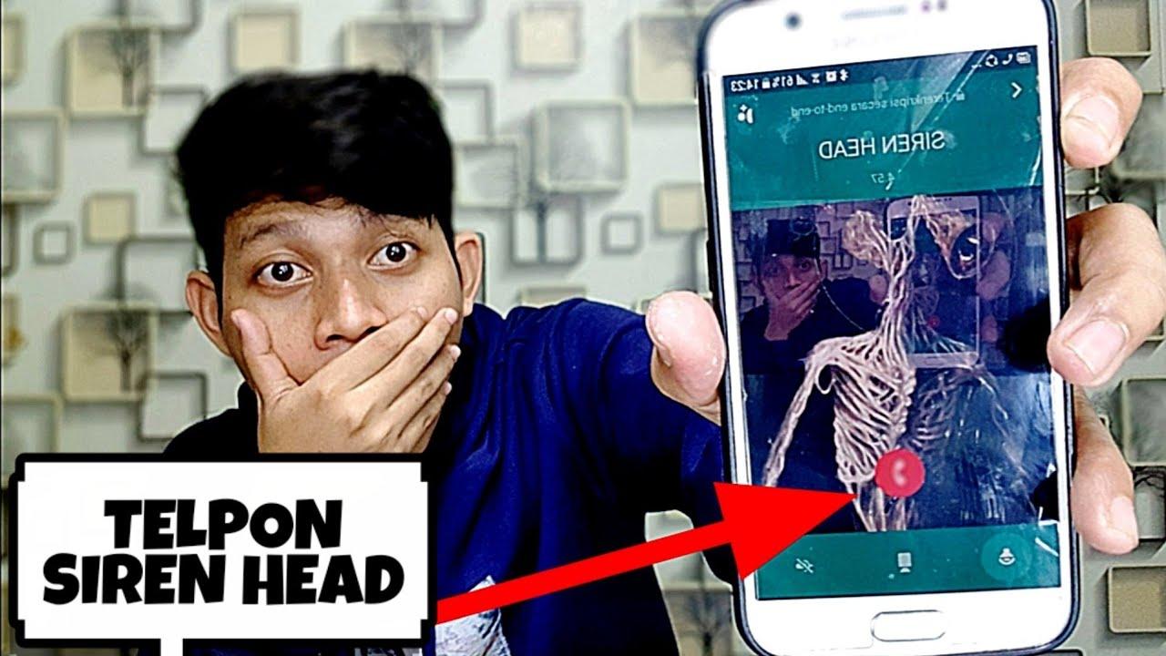JANGAN PERNAH TELPON SIREN HEAD JAM 02:00 PAGI😱 | SIREN HEAD DATANG KERUMAH AKU #TERSERAM