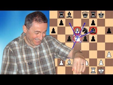 Beating the Benoni Defense in 23 moves   Knaak vs Anastasian 1988
