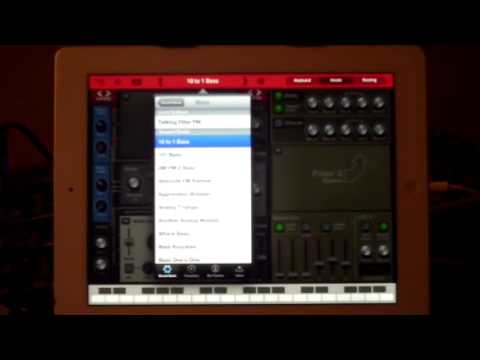 Thor Polysonic Synth..iPad Demo Of Factory Presets