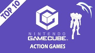 Top 10 / Best Nintendo GameCube Action Games of All Time!   Dolphin Emulator [1080p HD]