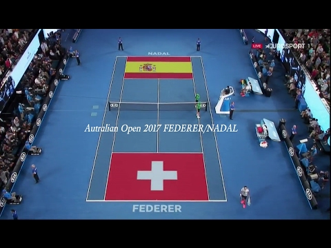 australian open 2017 finale federer/nadal best points HD french/français
