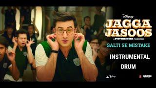 Galti Se Mistake Drum Instrumental | Jagga Jasoos | Ranbir Kapoor |