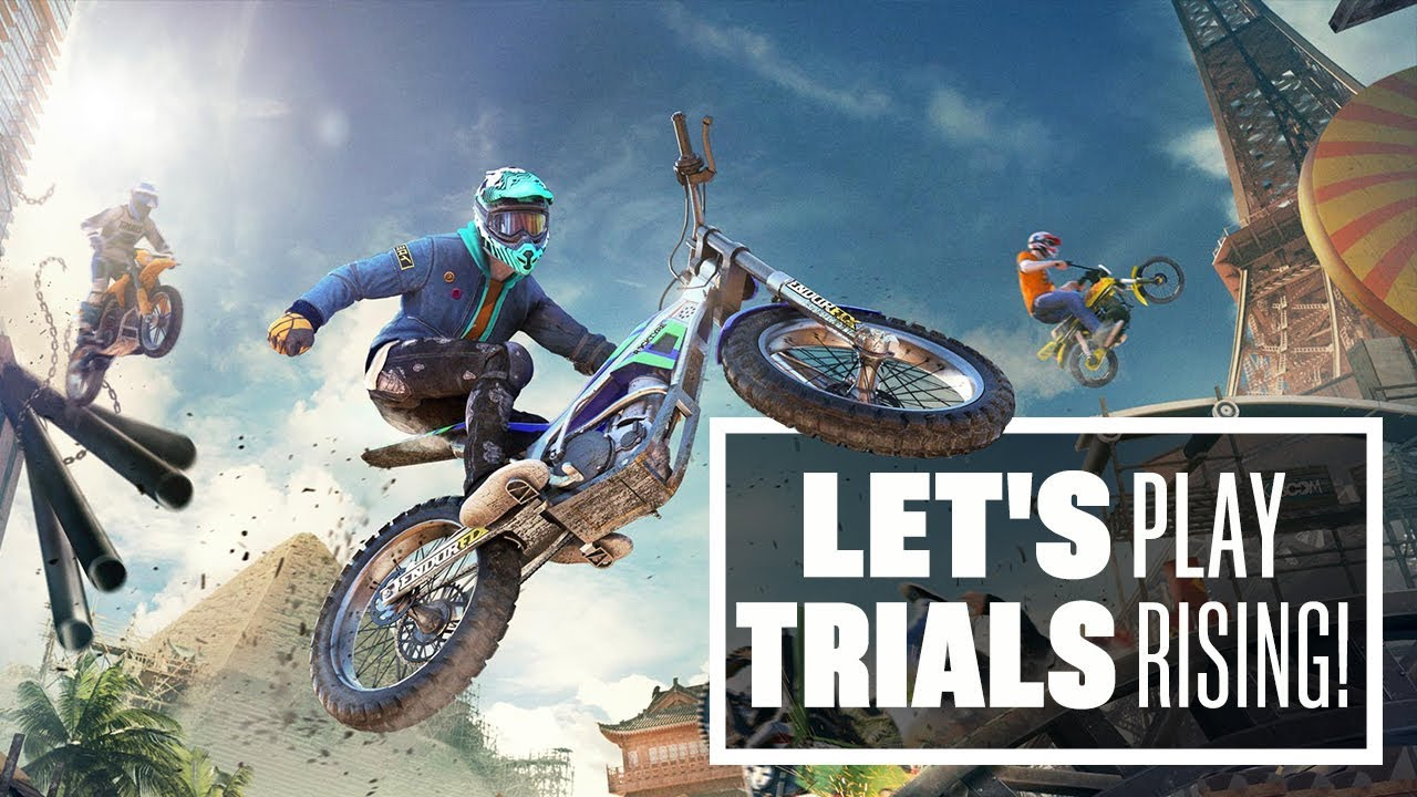 Let's Play Trials Rising: TANDEM BIKING, LIVE FART DIE YOUNG - Trials Rising gameplay