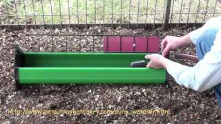 Trough Chicken Waterer