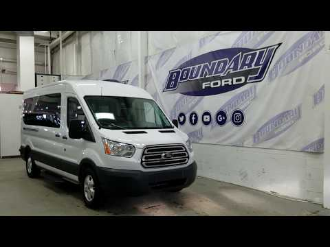2018 Ford Transit 350 Passenger van Overview | Boundary Ford