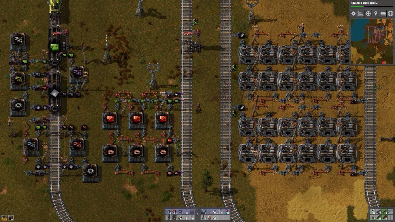 Factorio No Belt No Robot   039 Blue Science Packs