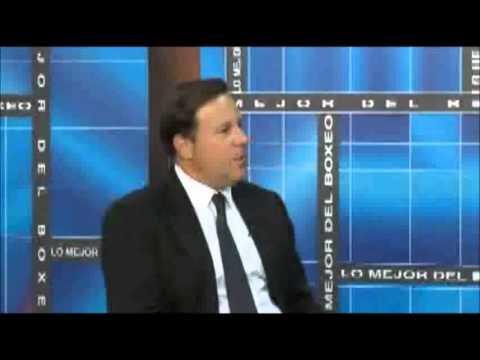Entrevista a Juan Carlos Varela en Lo Mejor Del Boxeo