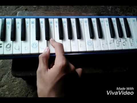 Not angka pianika lagu