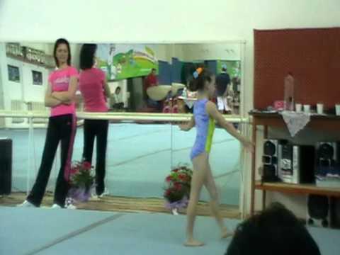 Diana Maria Valesareanu CSSG Focsani  FX  Cupa A. Raducan 2012
