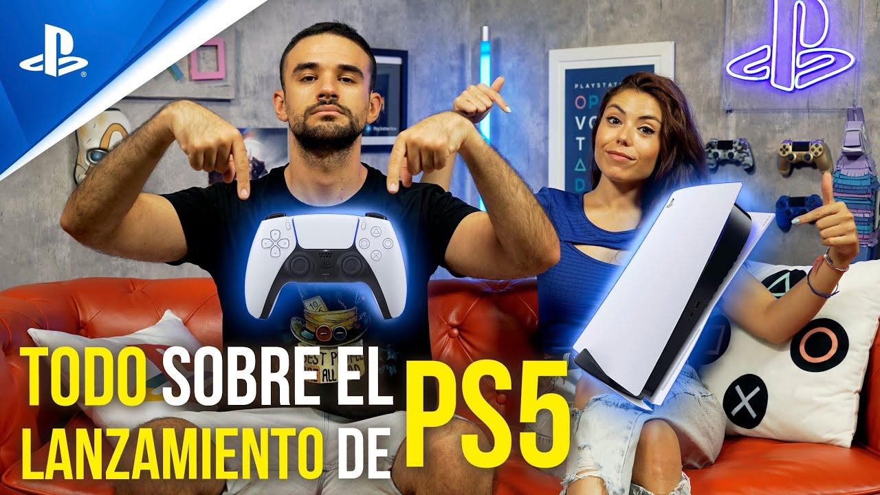 PlayStation 5 - TODO lo que llegará de salida a PS5 con LMDSHOW y ALBA | Conexión PlayStation