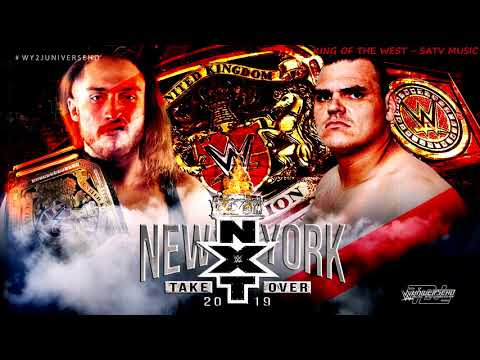 """WWE - NXT TakeOver New York Dunne Vs Walter PROMO Theme Song - """"King Of The West"""" By SATV Music + DL"""