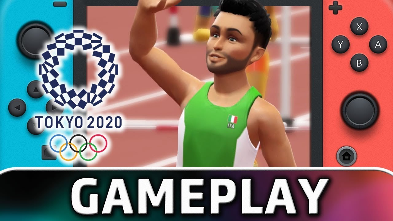 Olympic Games Tokyo 2020: The Official Video Game | 5 Minutes of Gameplay on Nintendo Switch