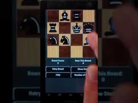 4x4 Solitaire Mini Chess Puzzles for Android