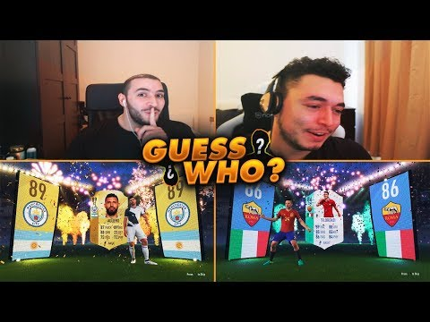 EPIC GUESS WHO PACKS VS OAKELFISH! I PACK AN ICON? FIFA 18 ULTIMATE TEAM
